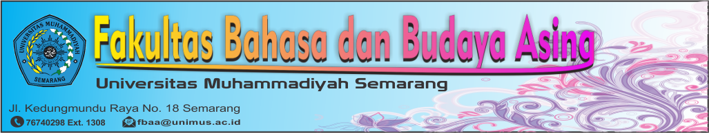 Fakultas Bahasa dan Budaya Asing UNIMUS